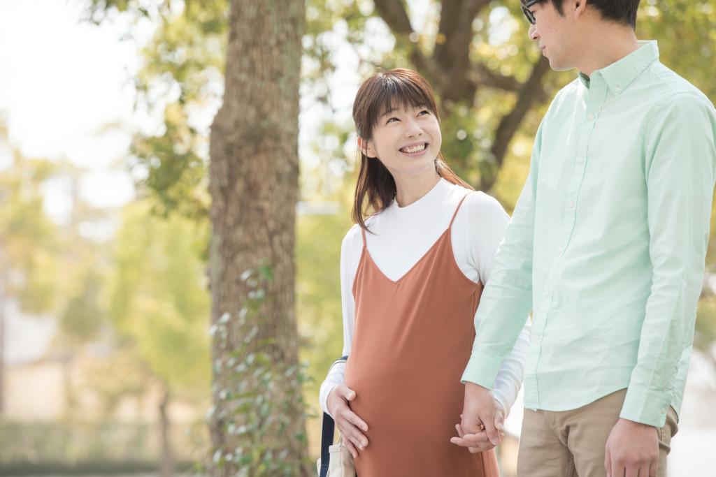 ご主人とお散歩