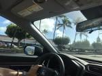 ワイメアビーチへドライブ1