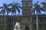 カメハメハ大王の像