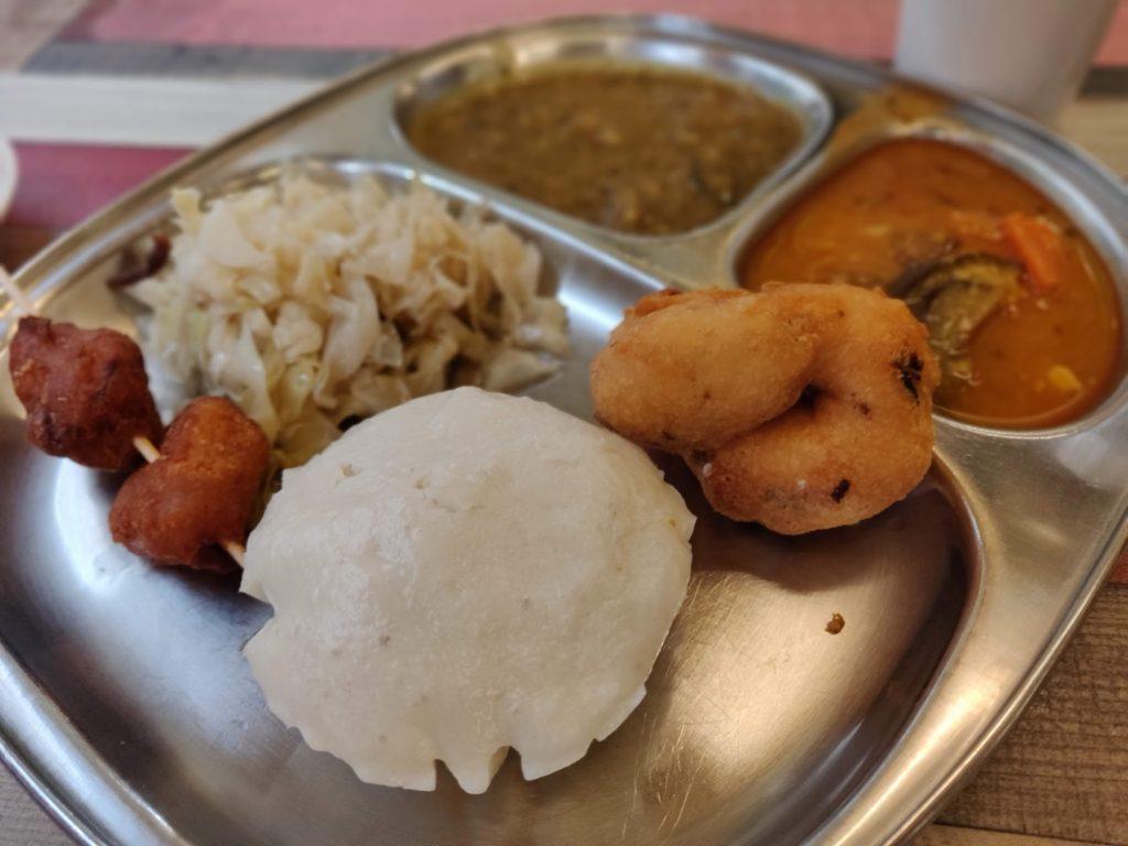 イドリーと南インド料理